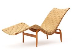 Vintage lounger by Bruno Mathsson