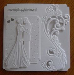 Scrapbooking Faeries: Inspirational card ideas - Wedding World Homemade Wedding Cards, Wedding Day Cards, Wedding Shower Cards, Wedding Cards Handmade, Wedding Anniversary Cards, Handmade Birthday Cards, Greeting Cards Handmade, Homemade Cards, Invitation Cards