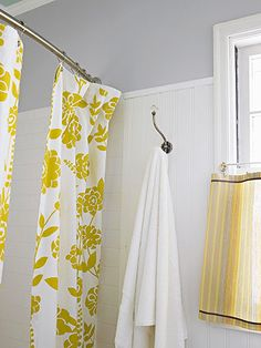 Great Shower Curtains.