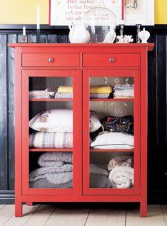 Cute Way To Linen Ikea Magazine Cabinet Home Hemnes