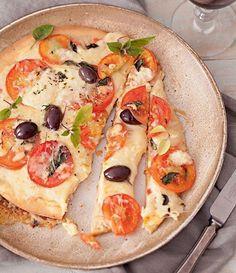 Receita de Pizza de Margherita sem Glúten! . ⚠ Reserve sua Pizza sem Glúten na Maria Gula! Pizzas individuais sem farinha de trigo! Saiba mais: ☎ 3641-2511 - https://www.mariagula.com.br/pizza