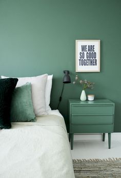 Awesome 38 Fresh Mint Green Color Scheme for Bedroom https://cooarchitecture.com/2017/08/10/38-fresh-mint-green-color-scheme-bedroom/