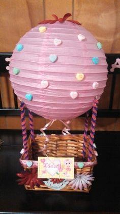 Valentine holder! Hot air balloon!!!