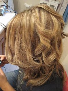 blonde hair with lowlights beautifully done highlights/lowlights