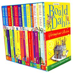 Roald Dahl- One of my all time favourite authors. LOVE all his books.