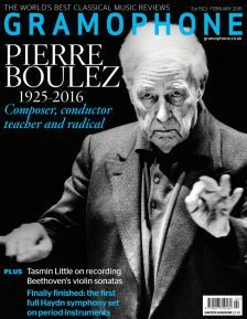 February issue – Pierre Boulez remembered – out now! | gramophone.co.uk
