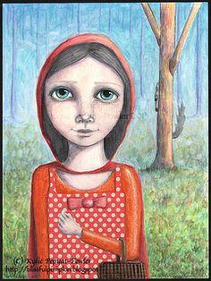 'Little Red' - by Kylie Pepyat-Fowler AKA: Blissful Pumpkin http://blissfulpumpkin.blogspot.com.au