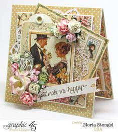 Scraps of Life - Graphic 45 A Ladies' Diary Deluxe Collection