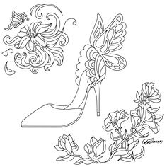 The sneak peek for the next Gift of The Day tomorrow. Do you like this one? #shoe #flowers ••••••••••• Don't forget to check it out tomorrow and show us your creative ideas, color with Color Therapy: http://www.apple.co/1Mgt7E5 ••••••••••• #happycoloring #giftoftheday #gotd #colortherapyapp #coloring #adultcoloringbook #adultcolouringbook #colorfy #colorfyapp #recolor #recolorapp #coloring #coloringmasterpiece #coloringbook #coloringforadults