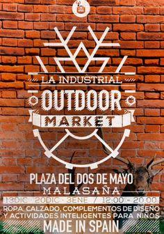 Aquí estaremos Bufandas With Style el próximo 20/12, Plza. 2 de Mayo, metro Noviciado