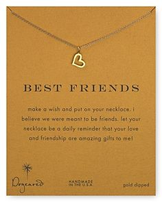 Dogeared Best Friends Love Heart Pendant http://rstyle.me/~1fA7w