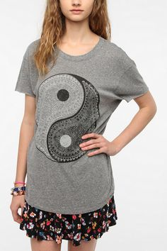 Truly Madly Deeply Paisley Yin Yang Tee  #UrbanOutfitters