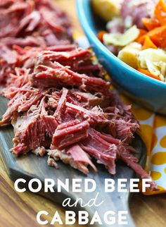 Growing up, we always had corned beef and cabbage for St. Patrick's Day. I really, really loved it (even when it wasn't cool to like corned beefor cabbage). Because a) my family is of Irish descent and b) we were the only people I knew who ate corned beef and cabbage, I assumed that a)... Read Post The post Corned Beef & Cabbage appeared first on Our Best Bites. :: Food