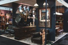 The Salvage Hunter shares tales of what really goes on at his favourite antiques fair