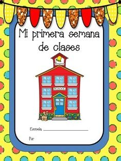 FREE - Primera semana de clases - First Week of School in Spanish