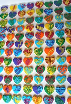 Sangeet Henna Cookies for your colorful Indian or Bollywood wedding #indian #wedding #bollywood
