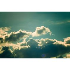 Beautiful Summer Clouds Wallpaper DESIGNERfIED ❤ liked on Polyvore featuring backgrounds, pictures, photos, pics, clouds and fillers