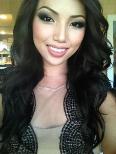 Promise Phan. LOVE her makeup here.