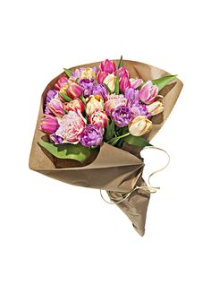 Say so long to droopy floral arrangements. The brilliant company Flower Muse ships directly from farms across the world, delivering fresh-cut blooms (tulips, orchids, roses and dozens more) quicker than most flower shops and at wholesale prices. Just add a vase and you're set.