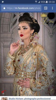 90bc6f77a Takchita Marocaine, Robe Soirée Hijab, Caftan Mariage, Mariage Marocain,  Caftan Haute Couture