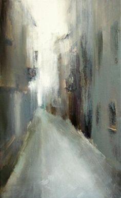 "Xanthippe Tsalimi  -  ""Segovia"", 2008, oil on canvas:"