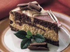 REESE'S Marble Cheesecake -