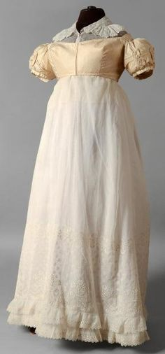 Skirt, bodice/jacket, and chemisette, c. 1800s Fashion, 19th Century Fashion, Vintage Fashion, Historical Costume, Historical Clothing, Regency Dress, Regency Era, Jane Austen, Vintage Dresses