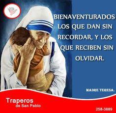 ¡Tal cuál, lo importante es dar, ayudar, pero hacerlo desde el corazón, sino perdería la escencia de lo hecho!!  Traperos De San Pablo, contribuye con esta propuesta recogiendo su donación, sin ningún costo, en diferentes zonas de Lima. Contáctenos : 258-3889 / 258-5262 RPC: 943520010 Email: donaciones@traperosdesanpablo.org http://www.traperosdesanpablo.org/ #Reciclaje #Donación #Ecología #Perú #Traperos #Traperia #Sabiasque