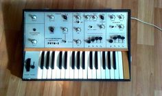MATRIXSYNTH: Silver Face Ritm 2 Analog Soviet Synthesizer