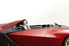 Pininfarina Sergio Exterior/interior transition