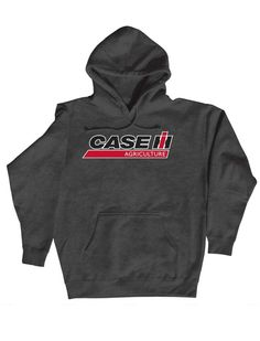 The Case IH hoodie will keep you warm on the farm or in the truck on the road. So shop IH GEAR for fast free shipping on tees, hoodies, hats and other gear.  With our great customer service you will always know when your IH GEAR is going to arrive so you can start showing how much you love International Harvester.
