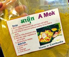 On the menu at nearly every restaurant in Phnom Penh and Siem Reap, fish amok (a fish curry) might just be the national dish of Cambodia....