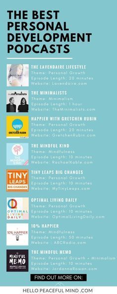 Some of the best personal development podcasts. This list includes podcasts about mindfulness, personal growth, minimalism, happiness and more! Ted Talks, Developement Personnel, Podcasts Best, Coaching Personal, Personal Wellness, Holistic Wellness, Personal Goals, Wellness Tips, Life Lessons