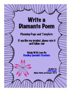 math worksheet : 1000 images about rhyming and poems on pinterest  poetry  : Diamante Poems Lesson Plans For 4th Grade