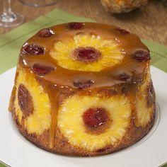 Food Cakes, Cupcake Cakes, Portuguese Desserts, Portuguese Recipes, Sweet Recipes, Cake Recipes, Dessert Recipes, Custard Cake, Pineapple Cake