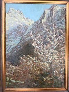 Gustav Jahn Ölgemälde Gems, Mountains, Nature, Painting, Travel, Art, Pictures, Voyage, Rhinestones