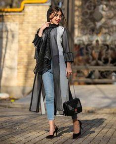 Abaya Fashion, Fashion Dresses, The Petit Prince, Iranian Beauty, Cute Lamb, Iranian Women Fashion, Retro Fashion, Womens Fashion, Stylish