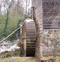 Blowing Cave Fitz Waterwheel