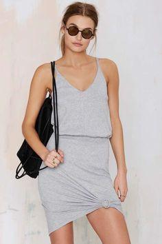 Jory Ribbed Dress will keep your basics bangin'!