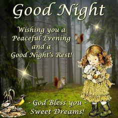 Good Night sister and all.have a sleepful night,God bless,xxx ❤❤❤✨✨✨ Good Night Thoughts, Good Night Love Quotes, Good Morning Beautiful Pictures, Good Night I Love You, Good Morning Friends Quotes, Good Night Prayer, Good Night Everyone, Good Night Blessings, Good Night Gif