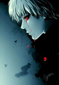 Natsuki Hanae was the perfect voice actor for Kaneki. His natural voice is so smooth and airy, revealing an innocence to Kaneki, and he can change that pleasant-sounding voice to one shrouded in pain and trauma. Tokyo Ghoul Fan Art, Ken Kaneki Tokyo Ghoul, Manga Art, Manga Anime, Anime Art, Anime Boys, Dark Anime, Fanarts Anime, Anime Characters