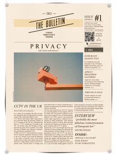 Bulletin for UCL | Editorial design on Editorial Design Served