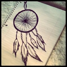 tattoo idea-dream catcher-love the inside of the circle detail
