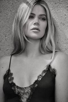 Khloé Kardashian Like You've Never Seen Her: Kiki De Montparnasse Slip dress