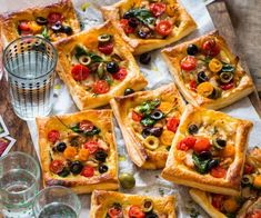 These golden little tarts take out my top marks for easy, delicious, family-friendly bites! They're packed with great flavour and ready in under an hour. Chocolate Slice, Chicken Slices, Spinach And Cheese, Sweet Cherries, Breakfast Bake, Top Marks, Light Recipes, Cherry Tomatoes, Quick Meals