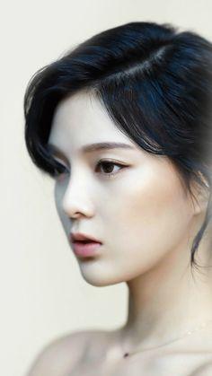 Cute Beauty Girl Woman Face Kpop #iPhone #6 #plus #wallpaper