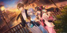 Wallpaper, Artwork, Anime, Painting, Pixiv, Work Of Art, Painting Art, Anime Shows, Wallpapers