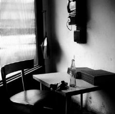 Vivian Maier Winnetka, IL (Interior with Telephone), April 1968 presented by Stephen Bulger Gallery