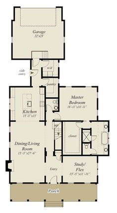 small bungalow cottage house plan with porches and photos floor