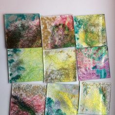 Customer commission for coasters. Busy busy.#loveresin #clarejohn #resincoasters